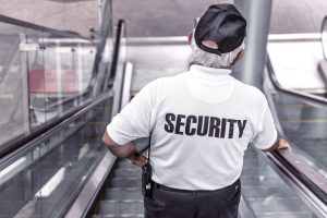 an image of a security officer