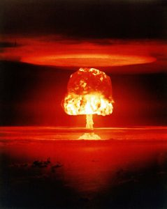 An image of a nuclear blast